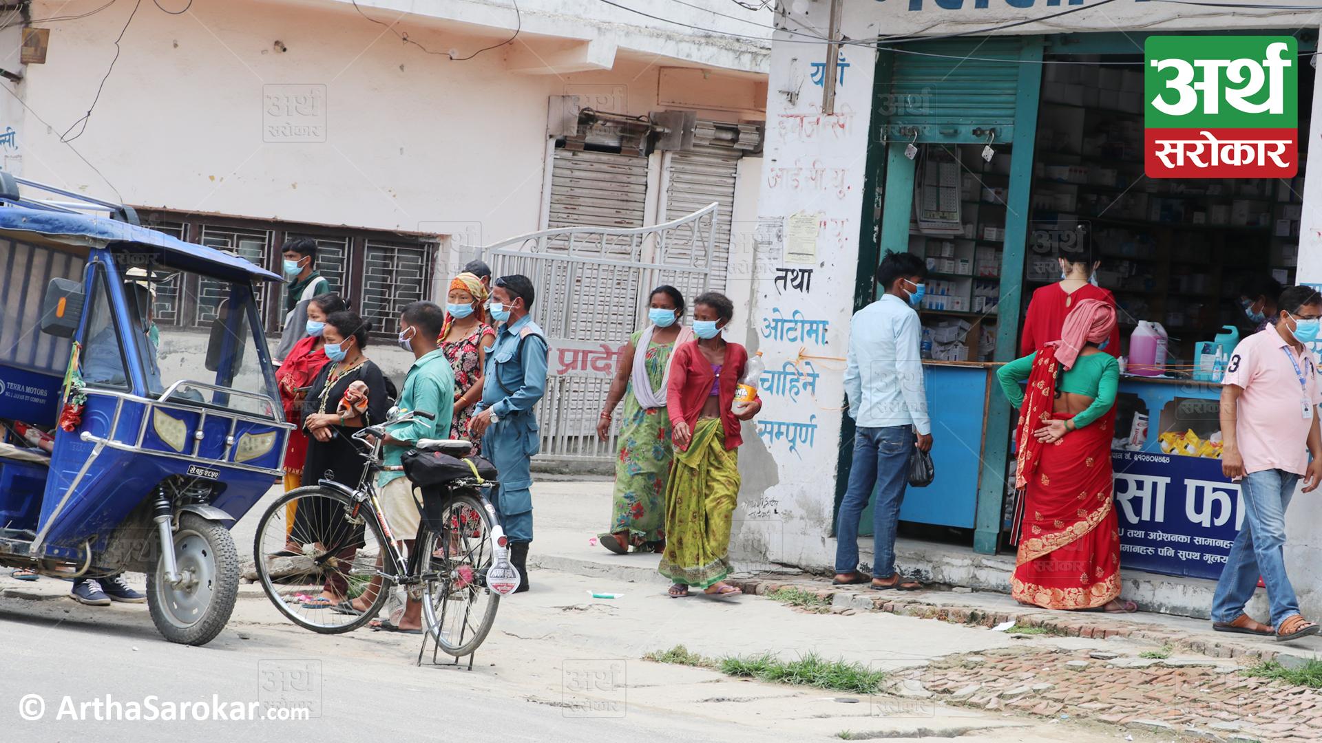 लकडाउनमा धनगढीका ४ मुख्य समस्याः व्यापार शुन्य हुँदा खाली हुँदै सटर, मजदुरी गर्नेलाई छाक टार्नै मुस्किल ! (फोटो-कथा)